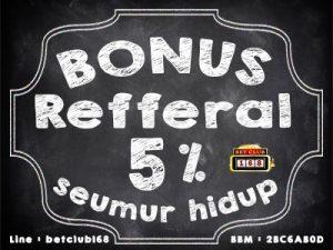 bonus referal AGEN JUDI online