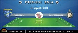 Prediksi Frosinone Vs Internazionale 15 April 2019