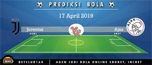 Prediksi Juventus Vs Ajax 17 April 2019