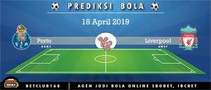 Prediksi Porto Vs Liverpool 18 April 2019