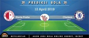 Prediksi Slavia Praha Vs Chelsea 12 April 2019