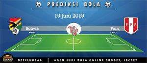 Prediksi Bolivia Vs Peru 19 Juni 2019