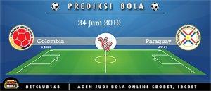 Prediksi Colombia Vs Paraguay 24 Juni 2019
