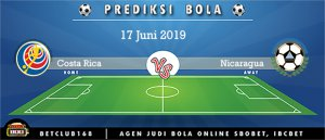 Prediksi Costa Rica Vs Nicaragua 17 Juni 2019