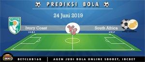 Prediksi Ivory Coast Vs South Africa 24 Juni 2019