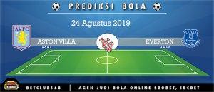 Prediksi Aston Villa Vs Everton 24 Agustus 2019