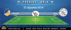 Prediksi APOEL Vs Ajax 21 Agustus 2019