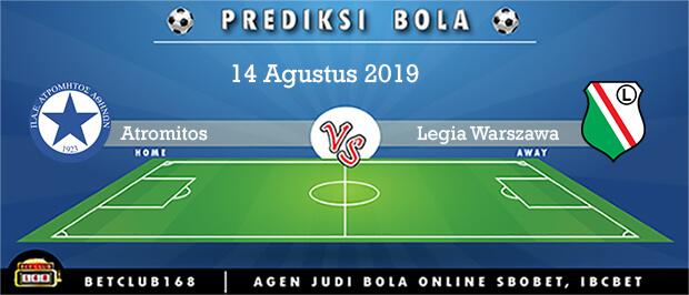 Prediksi Atromitos Vs Legia Warszawa 14 Agustus 2019
