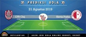 Prediksi CFR Cluj Vs Slavia Praha 21 Agustus 2019