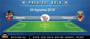 Prediksi Levante Vs Villarreal 24 Agustus 2019