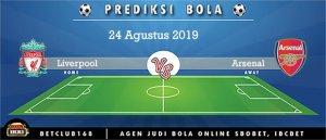 Prediksi Liverpool Vs Arsenal 24 Agustus 2019