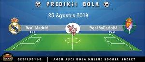 Prediksi Real Madrid Vs Real Valladolid 25 Agustus 2019