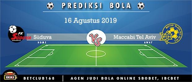 Prediksi Sūduva Vs Maccabi Tel Aviv 16 Agustus 2019