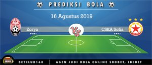 Prediksi Zorya Vs CSKA Sofia 16 Agustus 2019
