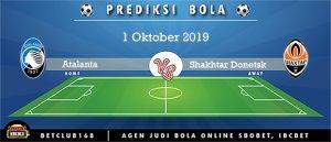 Prediksi Atalanta Vs Shakhtar Donetsk 1 Oktober 2019
