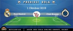 Prediksi Real Madrid Vs Club Brugge 1 Oktober 2019