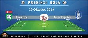 Prediksi Korea DPR Vs Korea Republic 15 October 2019