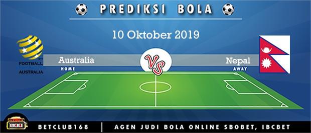 Prediksi Australia Vs Nepal 10 Oktober 2019