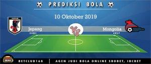 Prediksi Jepang Vs Mongolia 10 Oktober 2019