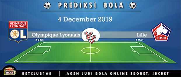 Prediksi Olympique Lyonnais Vs Lille 4 December 2019