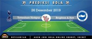 Prediksi Tottenham Hotspur Vs Brighton & Hov 26 Desember 2019