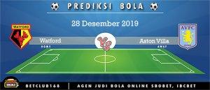 Prediksi Watford Vs Aston Villa 28 Desember 2019