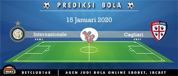 Prediksi Internazionale Vs Cagliari 15 Januari 2020