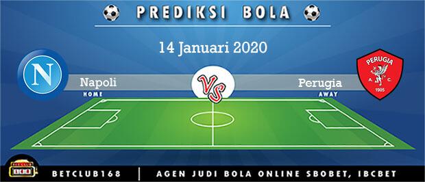 Prediksi Napoli Vs Perugia 14 Januari 2020