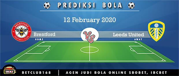 Prediksi Brentford Vs Leeds United 12 February 2020