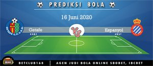 Prediksi Getafe Vs Espanyol 16 Juni 2020
