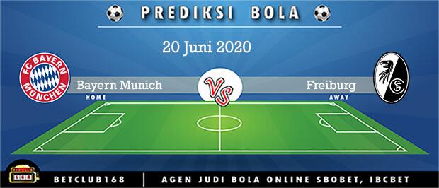 Prediksi Bayern Munich Vs Freiburg 20 Juni 2020