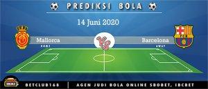 Prediksi Mallorca Vs Barcelona 14 Juni 2020