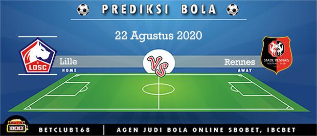 Prediksi Lille Vs Rennes 22 Agustus 2020
