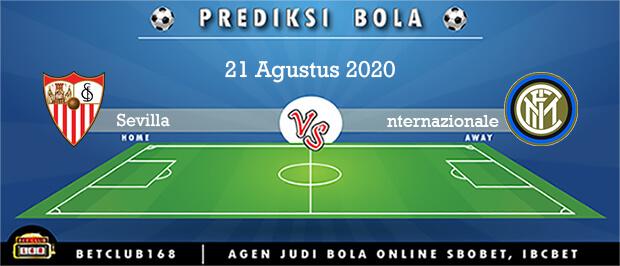 Prediksi Sevilla Vs Internazionale 21 Agustus 2020